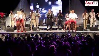 Koffi Olomide live on stage Dar es salaam with 'selfie'