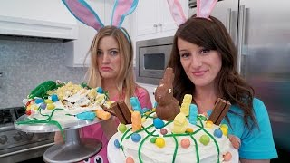 EASTER CAKE DECORATING CHALLENGE!