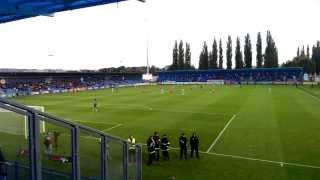 preview picture of video 'FK Senica vs ŠK Slovan 4 10 2013 Atmosfera v kotle hosti'