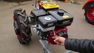 Мотоблок Мотор Сич МБ-9Э бензин от компании ПКФ «Электромотор» - видео 1