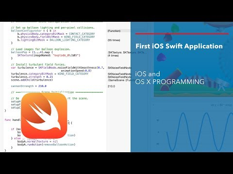 Apple Swift Tutorial: Simple iOS Swift GUI Application