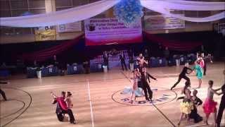 preview picture of video 'Mistrzostwa i Puchar Okręgu Śląskiego 2013 pow. 15 B LA LA Rumba'