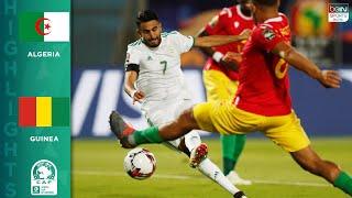 HIGHLIGHTS: Algeria vs. Guinea