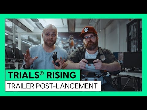Trailer post-lancement de Trials Rising