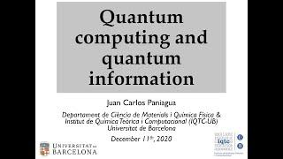 Computación cuántica e información cuántica