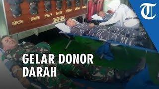 Sandar di Kotabaru Usai Laksanakan Patroli Perbatasan, KRI Ahmad Yani 351 Gelar Donor Darah