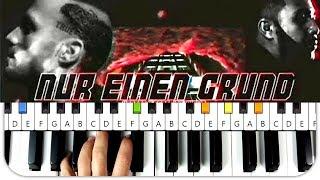 Kontra K Feat. Jah Khalib   Nur Ein Grund Instrumental Beat + Piano Tutorial MIDI