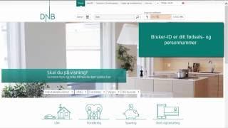 Logge inn i nettbanken med BankID