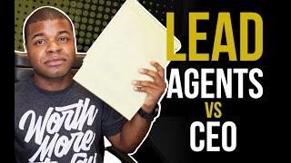 Lead Agent vs CEO [Real Estate Team Structure]
