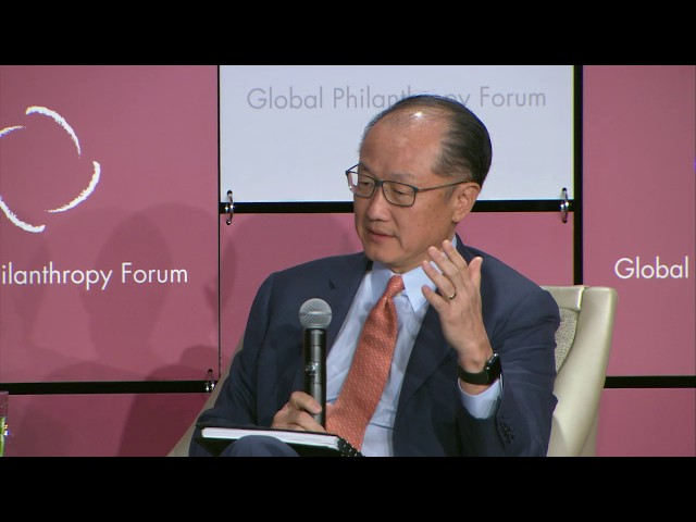 Keynote Conversation: Jim Yong Kim, President, World Bank Group
