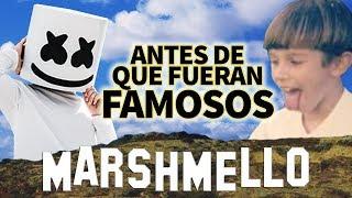 MARSHMELLO - Antes De Que Fueran Famosos - ¿QUIEN ESTA DETRAS DE LA MASCARA? | IDENTIDAD