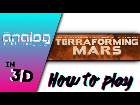 How to play Terraforming Mars: A 3D Animated Series