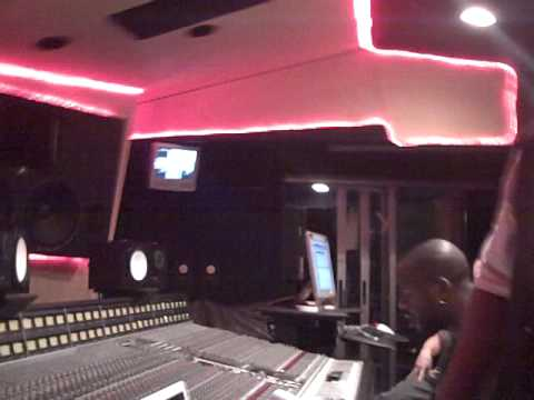K. Michelle and Jazze Pha In Studio