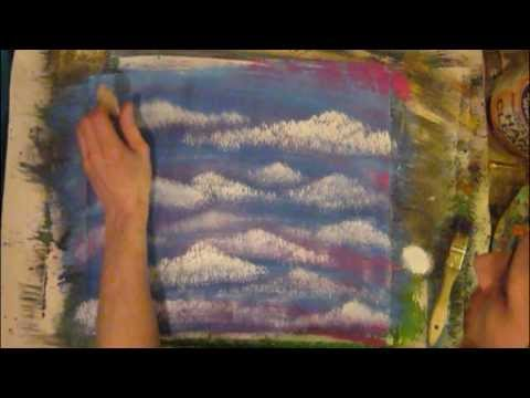 Exotic Clouds Painting