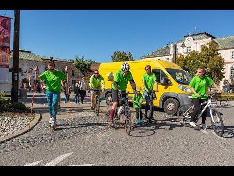 Na kolesách proti rakovine v Liptovskom Mikuláši