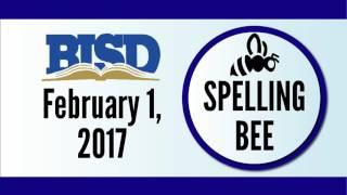 Spelling Bee 2017