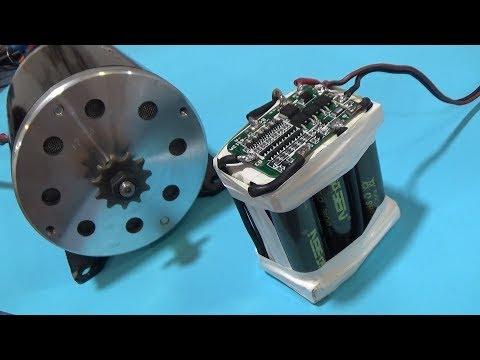 Batería 24 voltios casera 3,5 Amp