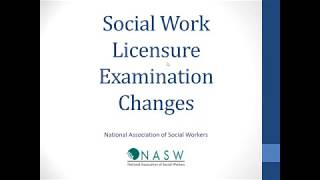 Changes to the ASWB Social Work Exam Outlines