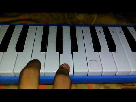 Not angka pianika  lagu cinta terbaik