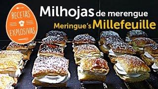 Milhojas individual de merengue - Recetas Explosivas