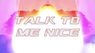 Bladee - Be Nice 2 Me (Lyric Video)
