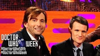 MATT SMITH & DAVID TENNANT on Shocking Hair & Sharing a TARDIS - THE GRAHAM NORTON SHOW