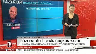 Bekir Coşkun Duygularını Halk TV'ye Anlattı