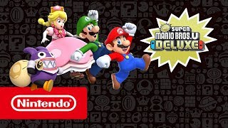 New Super Mario Bros. U Deluxe out today