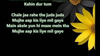 Mujhe Dard e dil Ka Pata Na Tha - Aakash Deep   - YouTube