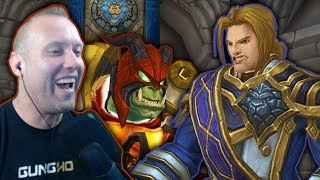 RESPECT THE HORDE - Swifty Raids Stormwind & Ironforge on Frost DK - Legion 7.2.5