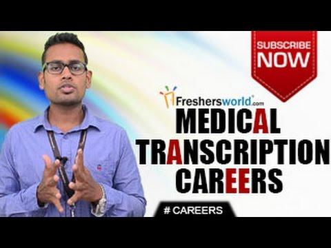 CAREERS IN MEDICAL TRANSCRIPTION – MT, Certification ...