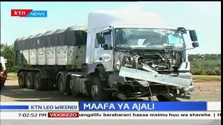 Watu kumi wafariki kwa ajali barabarani katika eneo la Kamara kwa barabara ya Nakuru-Eldoret