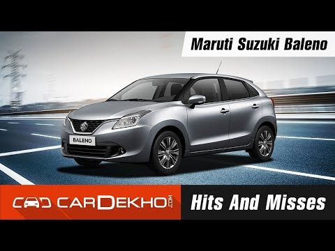 Maruti Suzuki Baleno Hits and Misses