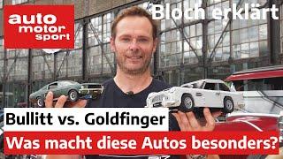 Bullit vs. Goldfinger: Was macht die Film-Autos einzigartig? - Bloch erklärt #154 | ams