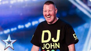 You'll NEVER guess what DJ John's act is? | Britain's Got Talent 2015