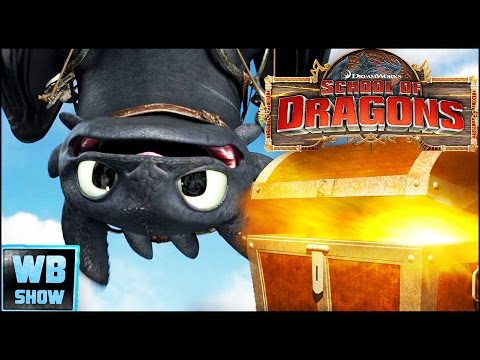 How To Train Your Dragon - School of Dragons Gameplay Part 1 - Egg Chest Opening!
