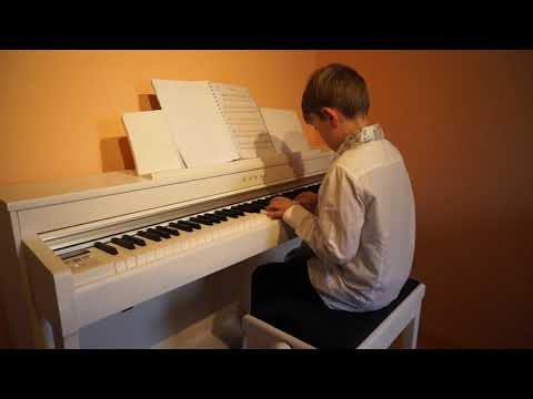 17 11 2019 Malte spielt Another Day in Paradise von Phil Collins