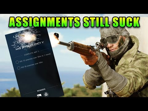 The Assignment Problem (Continued) | Battlefield V