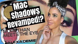 MAC - New Eyeshadow Reformulation?! - Demo + Review   Kinkysweat