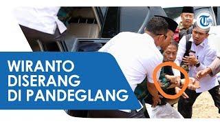 VIDEO Menkopolhukam Wiranto Diserang Dua Orang Misterius di Banten