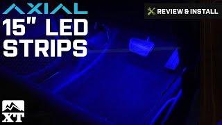 "Jeep Wrangler 15"" LED Strips (1987-2017 YJ, TJ, JK ) Review & Install"