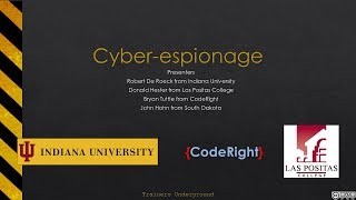 Cyber-espionage Technology Ups the Game
