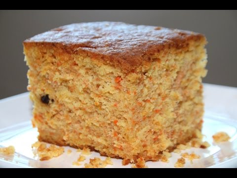 Video carrot cake recipe/soft & moist -- Cooking A Dream