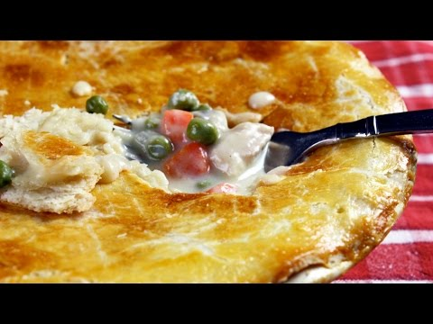 Chicken Pot Pie – Healthy Easy to Make from Scratch