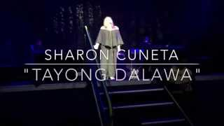 "Sharon Cuneta Cries As She Sings ""Tayong Dalawa"" Anaheim CA USA Concert Tour 2015"