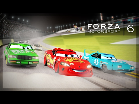 Forza 6 - CARS DINOCO 400 RECREATION! (Opening Race)