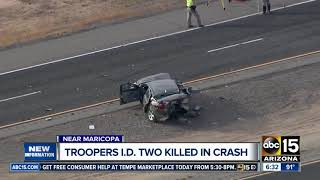Troopers ID two killed in CR 347 crash