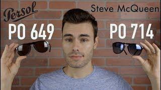 Persol Original PO 649 vs Steve McQueen PO 714