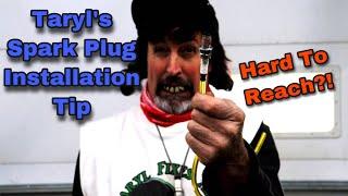 Spark Plug Quick Installation Tip