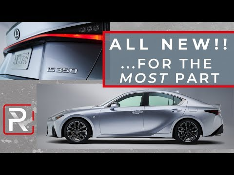 2021 Lexus IS 350 F-Sport – Redline: First Look